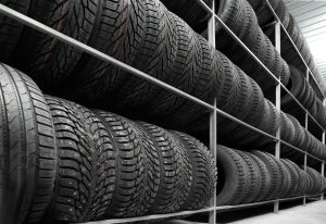 Used Tire Rack | Saving Warehouse Space